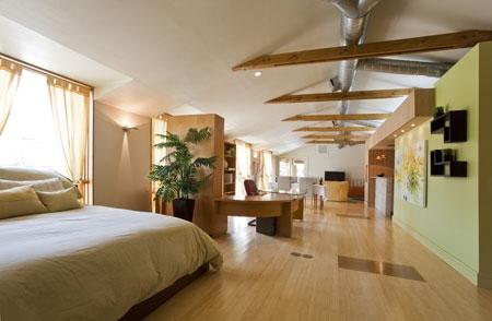 Loft Remodel Bedroom
